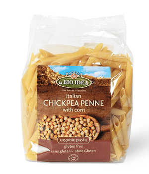 Chickpea penne.