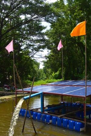 EcoMyanmar's raft