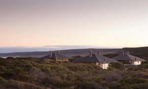 Cape du Couedic Lighthouse Keeper's Cottages in Flinders Chase national park, South Australia