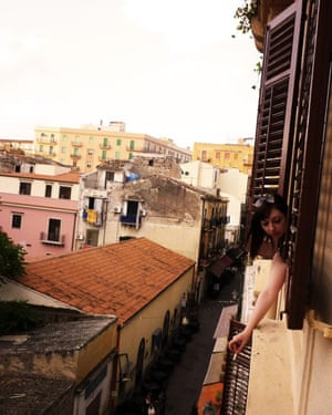 Rhiannon Lucy Cosslett in Italy during her year in the Erasmus programme