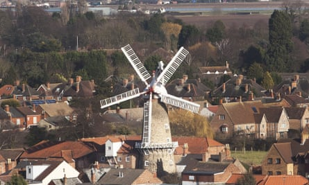 Boston in Lincolnshire, where there is a high proportion of immigrants. Photograph by Fabio De Paola