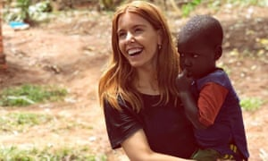 In the line of fire: Stacey Dooley in Uganda for Comic Relief.