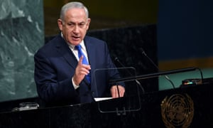 Israel's prime minister, Benjamin Netanyahu, has warned that his country will not accept an enhanced Iranian and Hezbollah presence on Israel's northern borders.