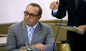 Kevin Spacey at a pretrial hearing in June.