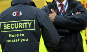 two men in G4S jackets