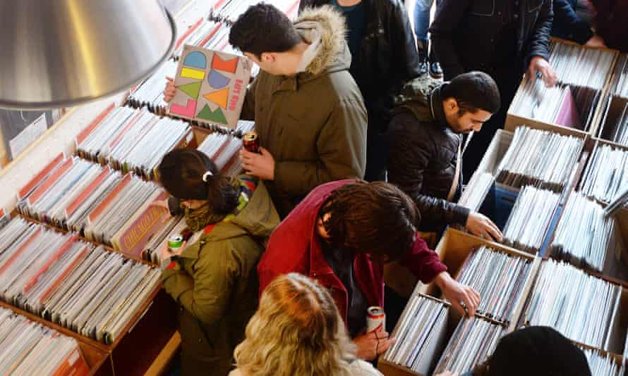 Vinyl renaissance … 2019 was the 12th consecutive year of growth in sales in the UK.