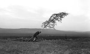 Max von Sydow in Ingmar Bergman's The Virgin Spring