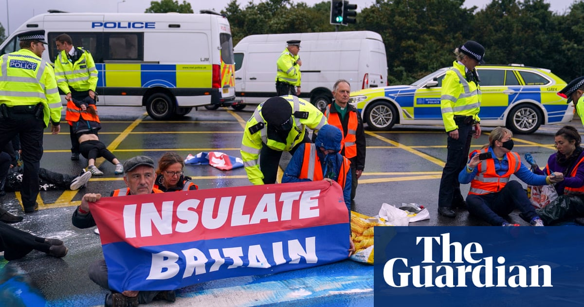 More than 50 arrested at Insulate Britain demonstration on Monday released