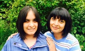 Saba Salman (right) and her sister Raana