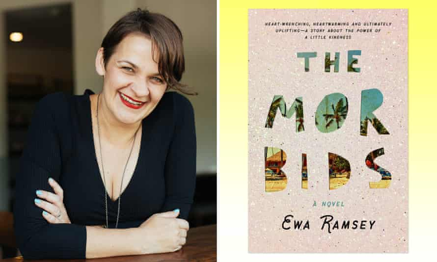 Ewa Ramsey and her book The Morbids