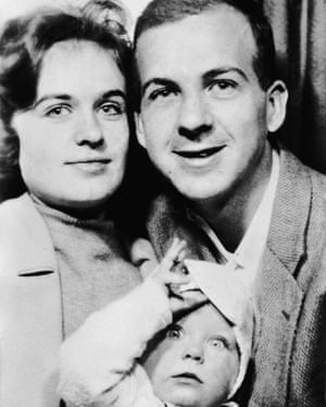 'Normal father' Lee Oswald with his wife Marina and their daughter, June, in 1962.