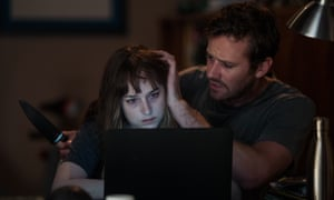 Dakota Johnson and Armie Hammer in Wounds.
