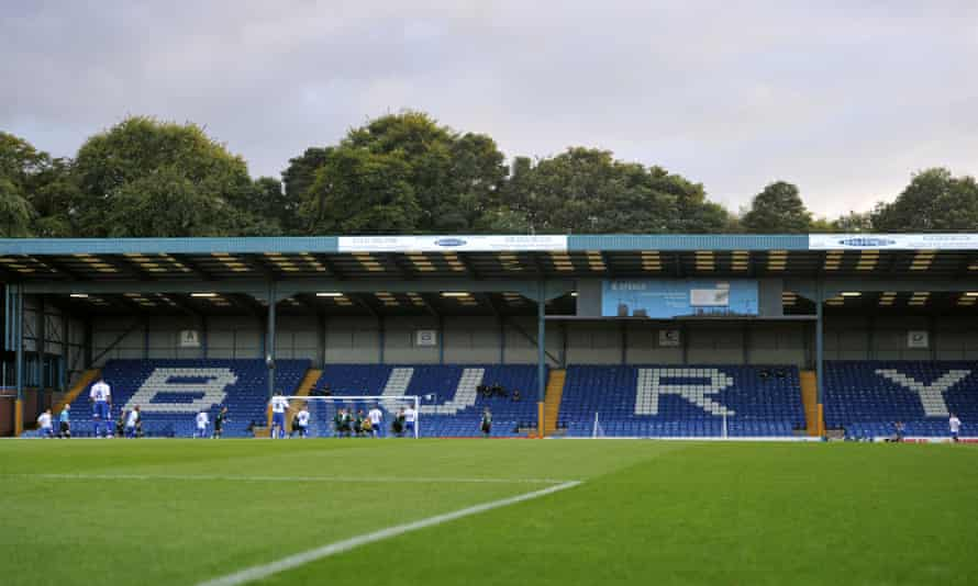 Bury will not play on the opening weekend of the Football League season because of questions over their levels of funding.