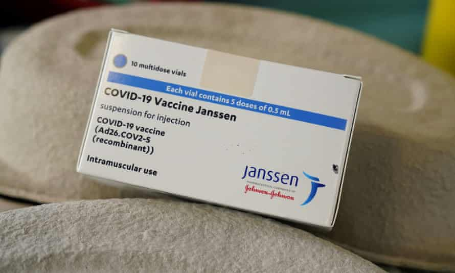 A box of the newly approved vaccines.