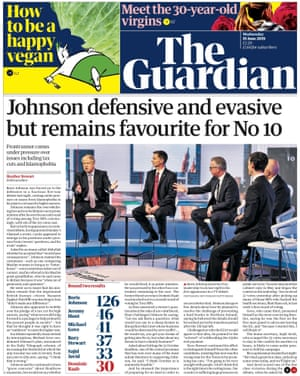 Guardian front page, Wednesday 19 June 2019