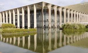 Brazil's Ministry of Foreign Affairs in Brasilia, known as Itamaraty after the Rio palace where it was once housed.