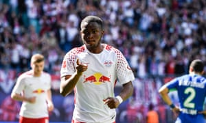 Ademola Lookman joined RB Leipzig on loan from Everton in January having won the Under-20 World Cup with England last summer.