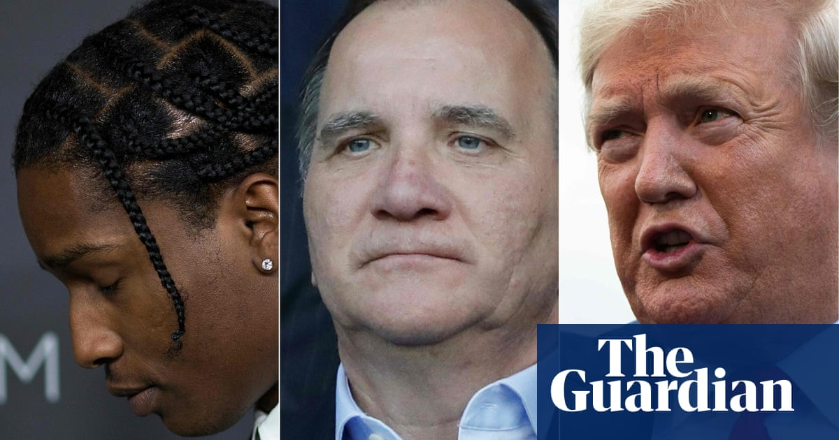 Sweden hits back at Donald Trump in row over A$AP Rocky detention