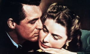 Carey Grant and Ingrid Bergman in Alfred Hitchcock's original thriller, Notorious