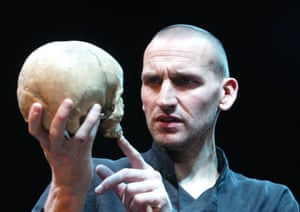 Christopher Eccleston at the West Yorkshire Playhouse in 2002