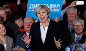 Voters play Theresa May slogan bingo as election fever grips Tory HQ
