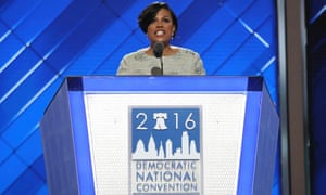 Stephanie Rawlings-Blake gavels in the first day of the Democratic national convention, which has been chaotic amid the Democratic party email leak.