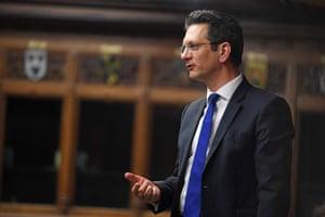 Steve Baker in the Commons last month.