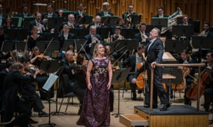 Diana Damrau sings Strauss's Four Last Songs, with the Bavarian Radio Symphony Orchestra conducted by Mariss Jansons.