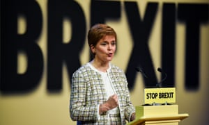 Nicola Sturgeon launches the SNP manifesto