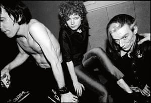 The Cramps in the rec room at Napa State Mental Hospital, 1979.