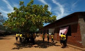 Students near Bujumbura