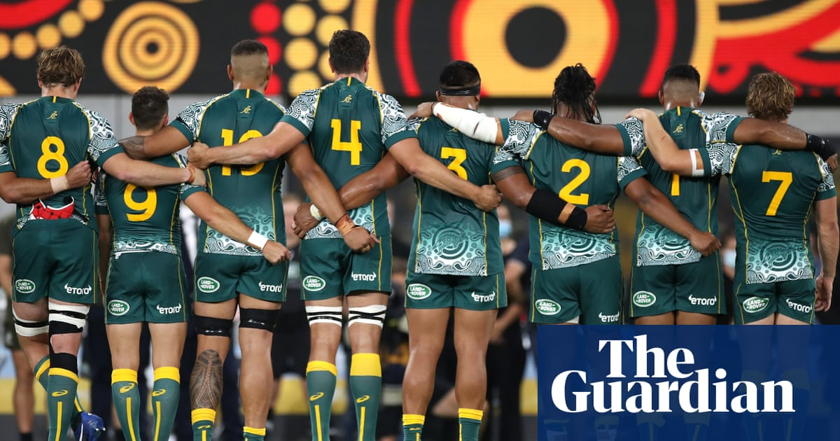 Wallabies sing Indigenous language Australian anthem before Tri-Nations draw with Argentina – The Guardian