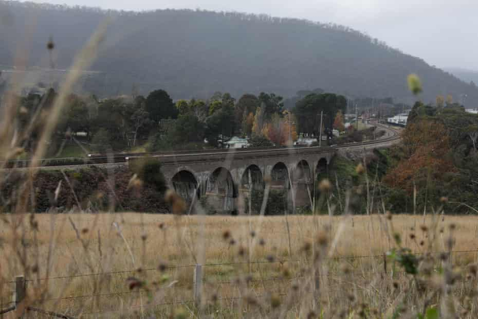 The railway bridge at Lithgow