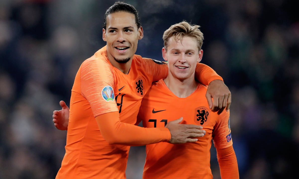 Netherlands Back Where We Belong But Must Be Humble Says Van Dijk Football The Guardian