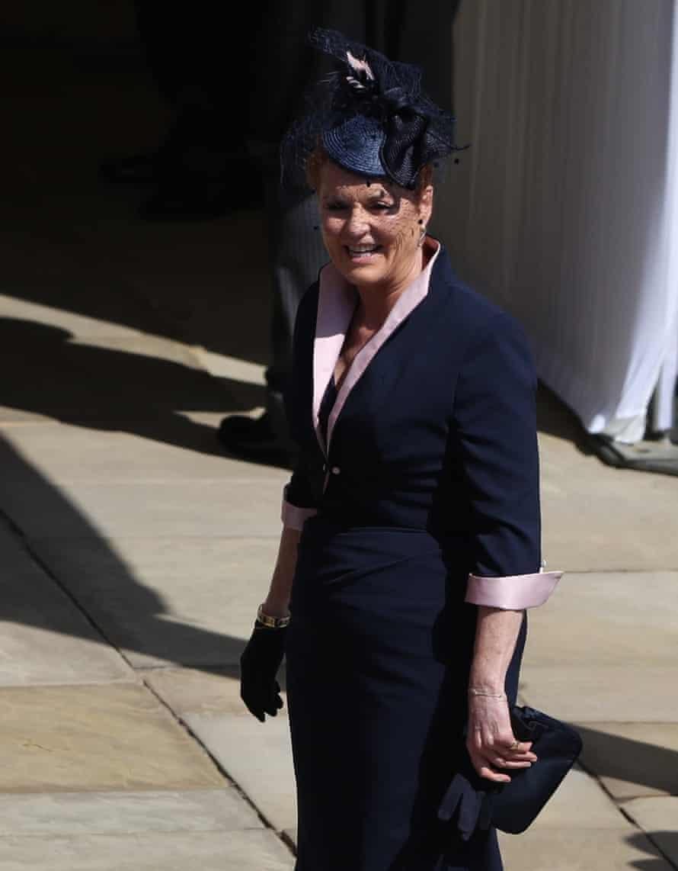 Sarah Ferguson arrives at Windsor