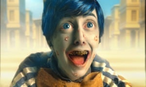 Rachel Maclean's Spite Your Face, a post-truth Pinocchio, at the Scottish pavilion.
