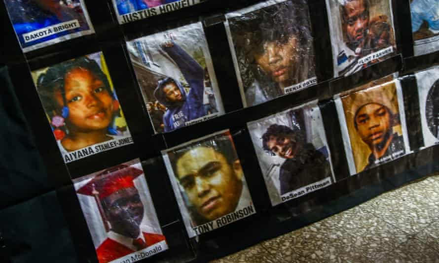 Chicago police victims