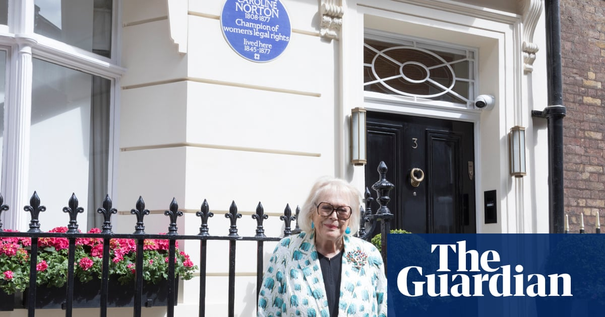 Blue plaque honours Caroline Norton, 'unsung hero of women's rights'
