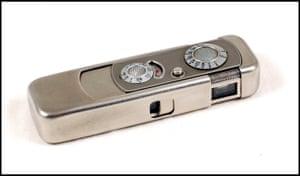 Legendary Minox mini camera - made in Latvia.
