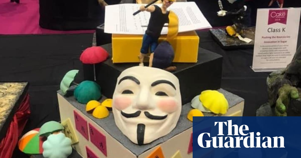 Flour power: Hong Kong protest-themed cake disqualified from UK baking contest