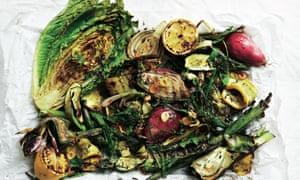 Neil Rankin's last-minute grilled salad.