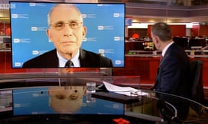 Dr Anthony Fauci on the BBC's Andrew Marr Show