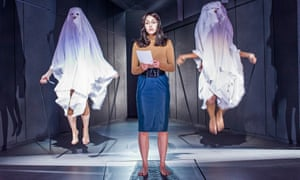 Cassie Layton (Lady Macduff) in Macbeth at the Young Vic.