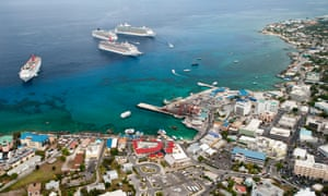 George Town in the Cayman Islands, which is refusing to set up a public register of beneficial ownership.