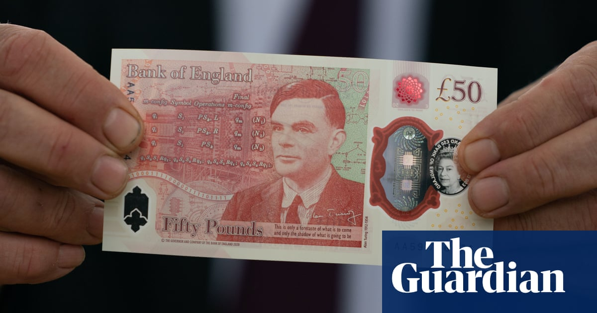 New £50 note featuring Alan Turing goes into circulation