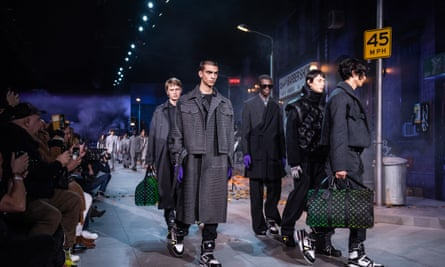 Louis Vuitton's January menswear show featured several pieces that paid homage to Michael Jackson that were due to go on sale in the summer.