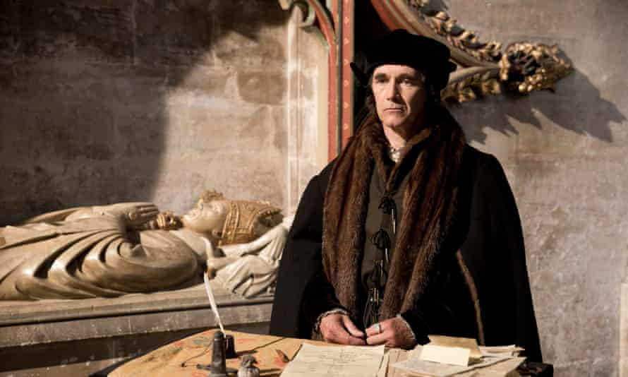 Mark Rylance as Thomas Cromwell in the BBC's adaptation of Hilary Mantel's Wolf Hall.