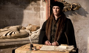 Mark Rylance as Thomas Cromwell in the BBC adaptation of Wolf Hall.