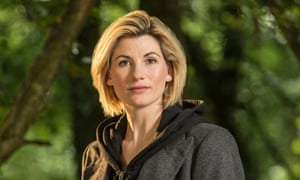 Breaking the glass galaxy … Jodie Whittaker has been revealed as the 13th Doctor.