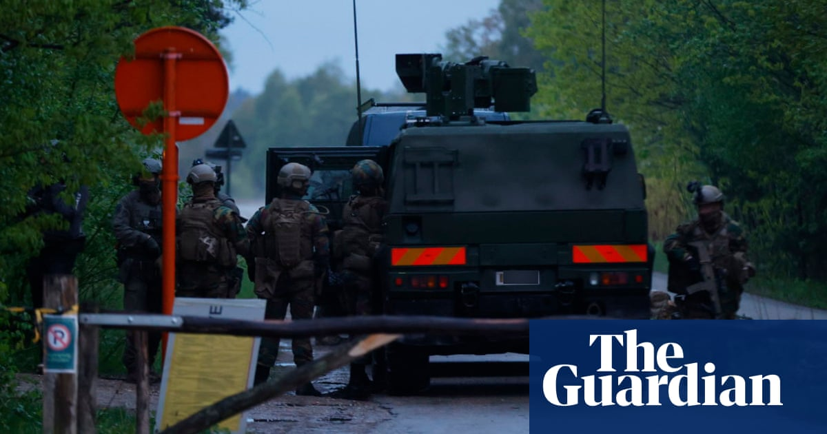 Body discovered after search for Belgian far-right soldier